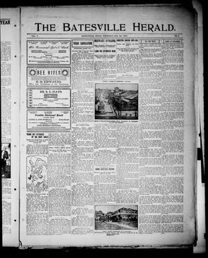 Primary view of object titled 'The Batesville Herald. (Batesville, Tex.), Vol. 7, No. 3, Ed. 1 Thursday, January 24, 1907'.