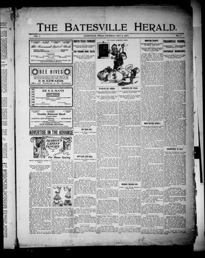 Primary view of object titled 'The Batesville Herald. (Batesville, Tex.), Vol. 7, No. 17, Ed. 1 Thursday, May 2, 1907'.