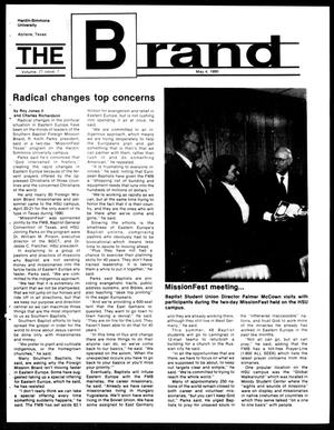 Primary view of object titled 'The Brand (Abilene, Tex.), Vol. 77, No. 7, Ed. 1, Friday, May 4, 1990'.