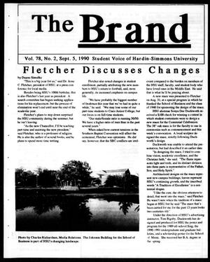 Primary view of object titled 'The Brand (Abilene, Tex.), Vol. 78, No. 2, Ed. 1, Wednesday, September 5, 1990'.