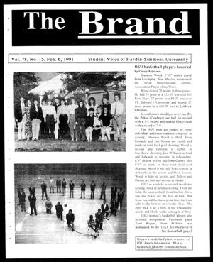 Primary view of object titled 'The Brand (Abilene, Tex.), Vol. 78, No. 15, Ed. 1, Wednesday, February 6, 1991'.