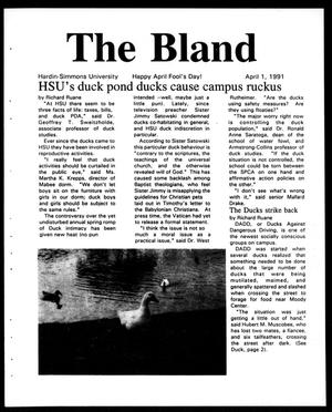 Primary view of object titled 'The Brand (Abilene, Tex.), Vol. 78, Ed. 1, Monday, April 1, 1991'.