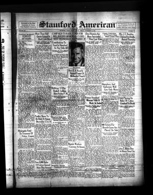 Primary view of Stamford American (Stamford, Tex.), Vol. 12, No. 33, Ed. 1 Friday, November 22, 1935