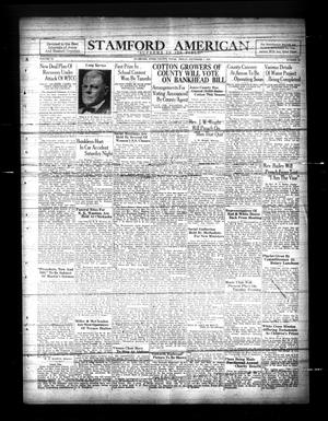 Primary view of Stamford American (Stamford, Tex.), Vol. 11, No. 35, Ed. 1 Friday, December 7, 1934