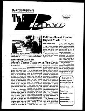 The Brand (Abilene, Tex.), Vol. 82, No. 1, Ed. 1, Thursday, September 15, 1994