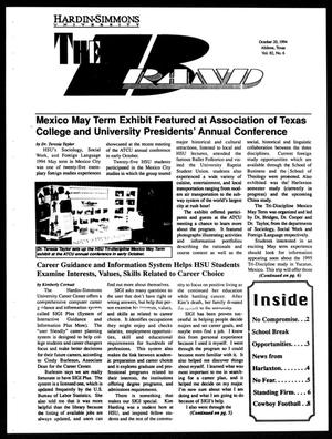 Primary view of object titled 'The Brand (Abilene, Tex.), Vol. 82, No. 6, Ed. 1, Thursday, October 20, 1994'.