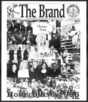 Primary view of object titled 'The Brand (Abilene, Tex.), Vol. 84, No. 8, Ed. 1, Friday, October 25, 1996'.