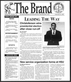 The Brand (Abilene, Tex.), Vol. 84, No. 14, Ed. 1, Thursday, February 6, 1997