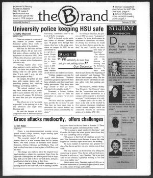 Primary view of object titled 'The Brand (Abilene, Tex.), Vol. 84, No. 12, Ed. 1, Tuesday, February 10, 1998'.