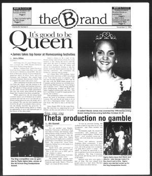 Primary view of object titled 'The Brand (Abilene, Tex.), Vol. 85, No. 4, Ed. 1, Thursday, November 12, 1998'.