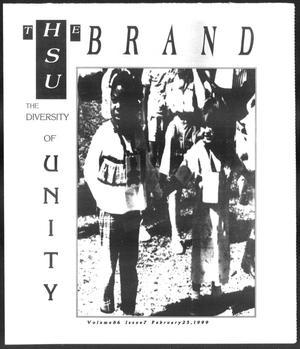 Primary view of object titled 'The HSU Brand (Abilene, Tex.), Vol. 86, No. 7, Ed. 1, Thursday, February 25, 1999'.