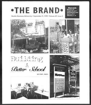 Primary view of object titled 'The Brand (Abilene, Tex.), Vol. 87, No. 2, Ed. 1, Thursday, September 9, 1999'.