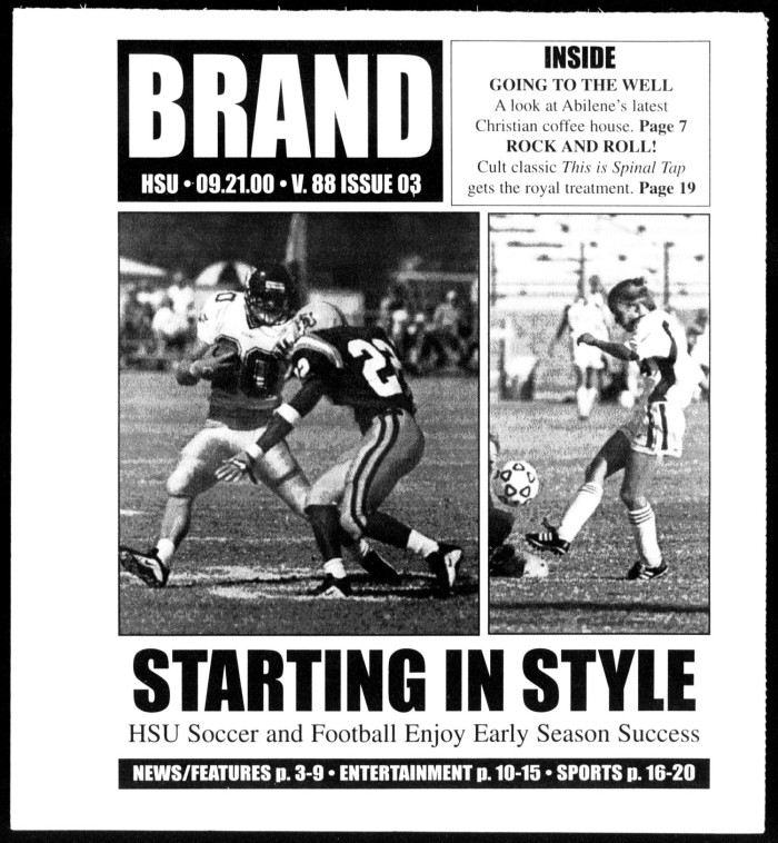 Brand (Abilene, Tex ), Vol  88, No  3, Ed  1, Thursday