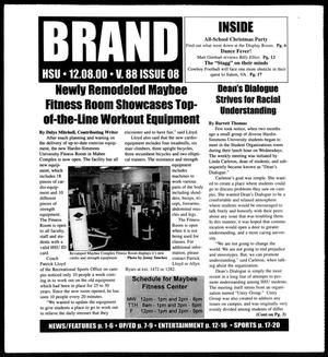 Primary view of object titled 'Brand (Abilene, Tex.), Vol. 88, No. 8, Ed. 1, Friday, December 8, 2000'.