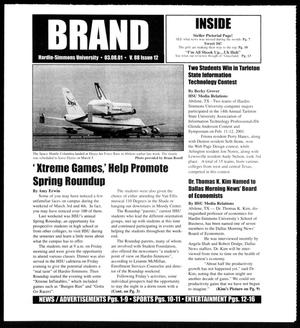 Primary view of object titled 'Brand (Abilene, Tex.), Vol. 88, No. 12, Ed. 1, Friday, March 2, 2001'.