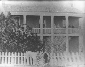 Primary view of object titled '[George Feris home in Richmond, Texas]'.