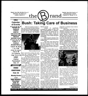 The Brand (Abilene, Tex.), Vol. 90, No. 6, Ed. 1, Tuesday, February 4, 2003