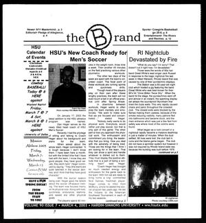 Primary view of object titled 'The Brand (Abilene, Tex.), Vol. 90, No. 7, Ed. 1, Tuesday, March 4, 2003'.
