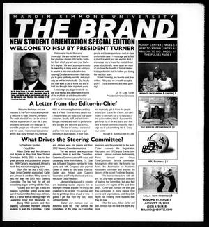 Primary view of object titled 'The Brand (Abilene, Tex.), Vol. 91, No. 1, Ed. 1, Monday, August 18, 2003'.