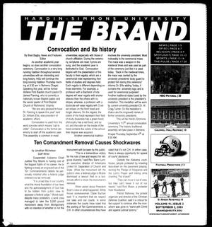 Primary view of object titled 'The Brand (Abilene, Tex.), Vol. 91, No. 2, Ed. 1, Tuesday, September 2, 2003'.