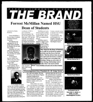 Primary view of object titled 'The Brand (Abilene, Tex.), Vol. 91, No. 14, Ed. 1, Tuesday, April 20, 2004'.