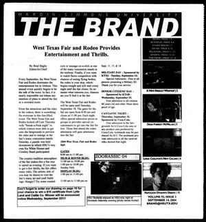 Primary view of object titled 'The Brand (Abilene, Tex.), Vol. 92, No. 3, Ed. 1, Tuesday, September 14, 2004'.