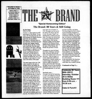 Primary view of object titled 'The HSU Brand (Abilene, Tex.), Vol. 92, No. 6, Ed. 1, Tuesday, October 26, 2004'.