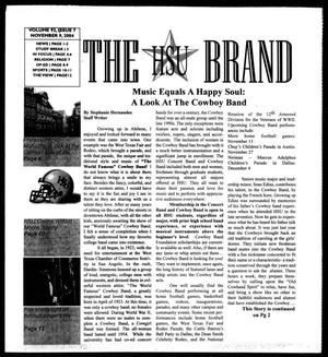 The HSU Brand (Abilene, Tex.), Vol. 92, No. 7, Ed. 1, Tuesday, November 9, 2004