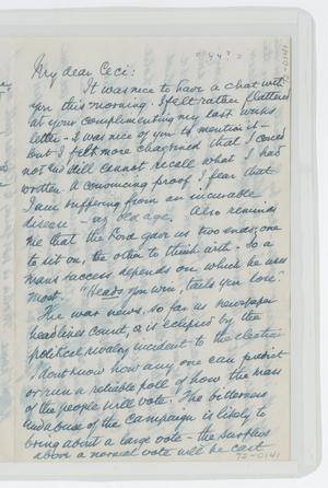 [Letter from Isaac to Cecile, 1944]