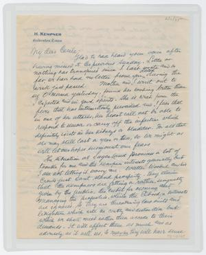 Primary view of object titled '[Letter from Isaac to Cecile, February 11, 1945]'.