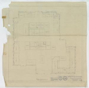 Primary view of object titled 'Hendrick Home for Children, Abilene, Texas: Kitchen Equipment Layout'.