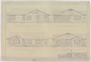 Primary view of object titled 'Hendrick Home for Children, Abilene, Texas: Building Elevation Directions'.