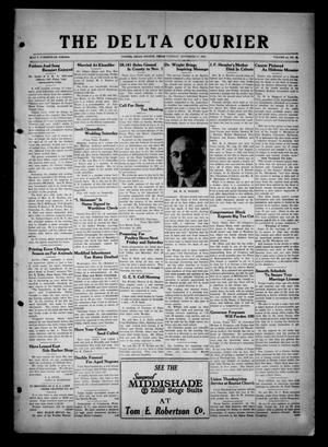 Primary view of The Delta Courier (Cooper, Tex.), Vol. 44, No. 46, Ed. 1 Tuesday, November 17, 1925