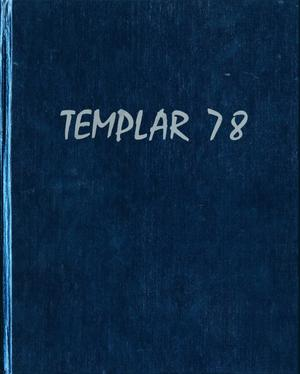 Primary view of object titled 'The Templar, Yearbook of Temple Junior College, 1978'.