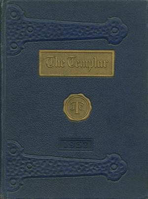 Primary view of object titled 'The Templar, Yearbook of Temple Junior College, 1937'.