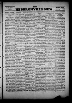 Primary view of object titled 'The Hebbronville News (Hebbronville, Tex.), Vol. 6, No. 20, Ed. 1 Wednesday, June 12, 1929'.