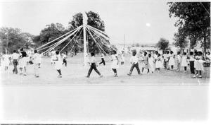 Primary view of object titled 'Sunrise School - May Day Celebration'.