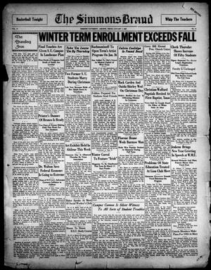 The Simmons Brand (Abilene, Tex.), Vol. 17, No. 14, Ed. 1, Saturday, January 7, 1933