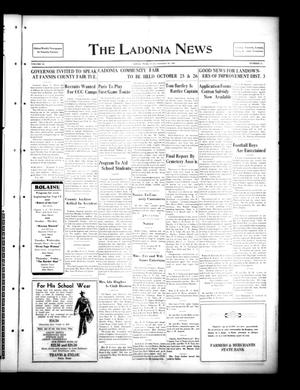 Primary view of object titled 'The Ladonia News (Ladonia, Tex.), Vol. 55, No. 25, Ed. 1 Friday, September 20, 1935'.
