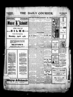 Primary view of object titled 'The Daily Courier. (Tyler, Tex.), Vol. 4, No. 193, Ed. 1 Wednesday, April 16, 1902'.