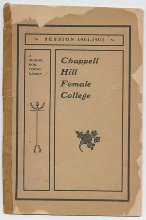 Primary view of object titled 'Catalog of Chappell Hill Female College, 1901'.