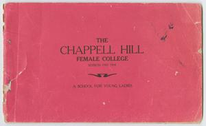 Catalog of Chappell Hill Female College, 1907