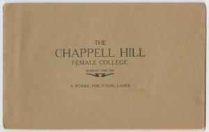 Primary view of object titled 'Catalog of Chappell Hill Female College, 1908'.