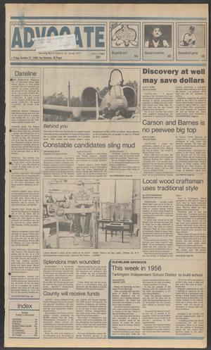 Cleveland Advocate (Cleveland, Tex.), Vol. 69, No. 42, Ed. 1 Friday, October 21, 1988