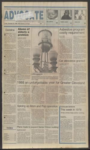 Cleveland Advocate (Cleveland, Tex.), Vol. 69, No. 50, Ed. 1 Friday, December 30, 1988
