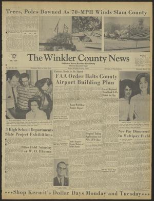 Primary view of object titled 'The Winkler County News (Kermit, Tex.), Vol. 28, No. 104, Ed. 1 Monday, May 6, 1963'.