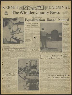 Primary view of object titled 'The Winkler County News (Kermit, Tex.), Vol. 27, No. 24, Ed. 1 Thursday, July 26, 1962'.