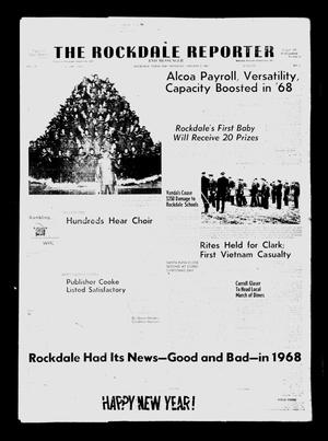 Primary view of object titled 'The Rockdale Reporter and Messenger (Rockdale, Tex.), Vol. 97, No. 1, Ed. 1 Thursday, January 2, 1969'.