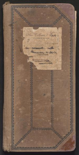 Primary view of object titled '[Business Accounts: 1901-1904]'.