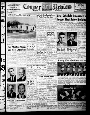 Cooper Review (Cooper, Tex.), Vol. 87, No. 31, Ed. 1 Thursday, August 5, 1965